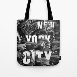New York City streets Tote Bag