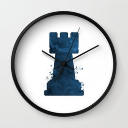 Chess Rook Wall Clock