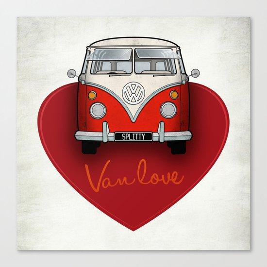 Van Love Canvas Print