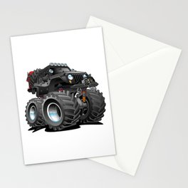 Off Road 4x4 Cartoon Stationery Cards