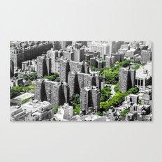NYC - Living Green Canvas Print