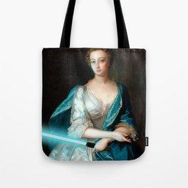 Ye Olde Glowstick V Tote Bag