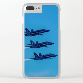 The Blue Angels Clear iPhone Case
