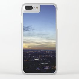 Boise Sunset Clear iPhone Case