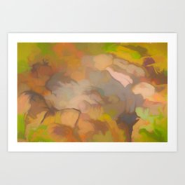 Earth Tones Art Print