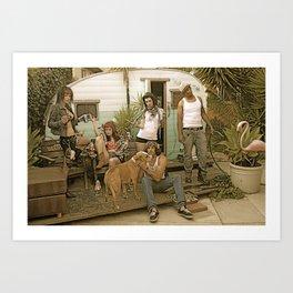 trailer trash Art Print