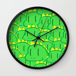 Dragon Invasion Wall Clock