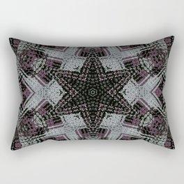 Dot Fourier Mandala 2 Rectangular Pillow