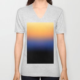 Sunset Gradient 6 Unisex V-Neck