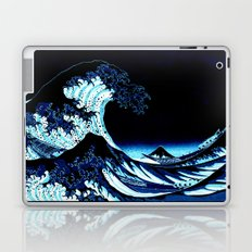 the Great Wave Blue Laptop & iPad Skin