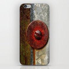 Rusted Washer iPhone & iPod Skin