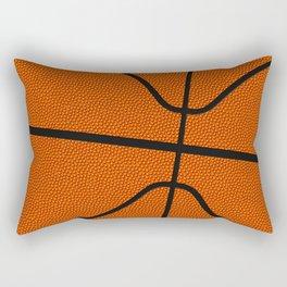 Fantasy Basketball Super Fan Free Throw Rectangular Pillow