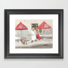 Mouse on the House Framed Art Print