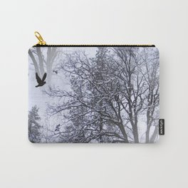 Winter Raven... Carry-All Pouch