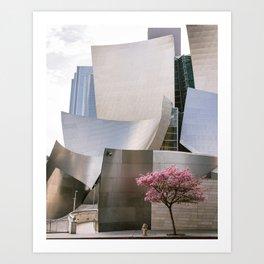Los Angeles in Spring Art Print