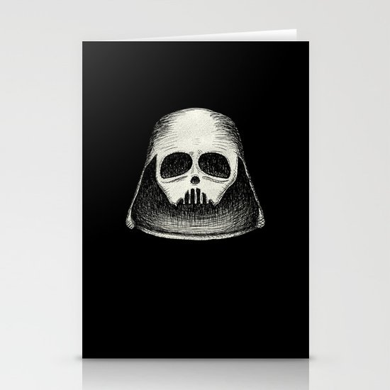 Death Vader Stationery Cards