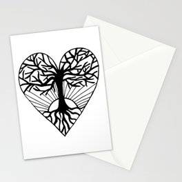 The Heart of Life Stationery Cards