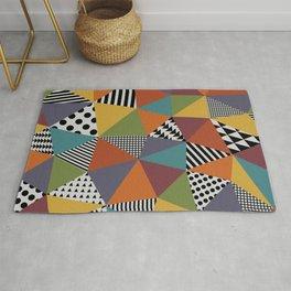 Colorful Geometry Rug