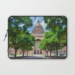 Texas State Capital Laptop Sleeve