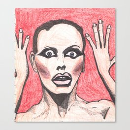 """Alyssa Edwards; """"She was the one backstabbing me behind my back!"""" Canvas Print"""