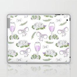 Watercolor seamless romantic print Laptop & iPad Skin