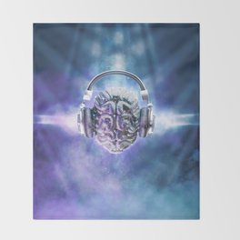 Cognitive Discology Throw Blanket