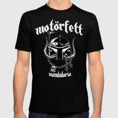 MotorFett Mens Fitted Tee SMALL Black