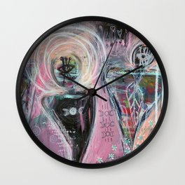 Moon Dancer Wall Clock