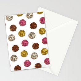 Pan Dulce (white bg) Stationery Cards