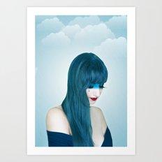 Rain Goddess Art Print