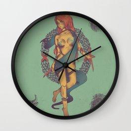 Le Monde Wall Clock