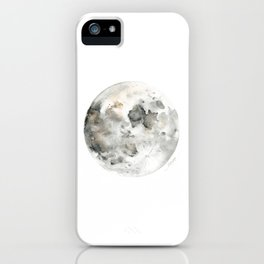 Bare Moon iPhone Case