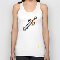sword Tank Tops featuring Sword by HOVERFLYdesign