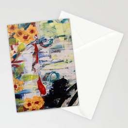 Atlas in peace Stationery Cards