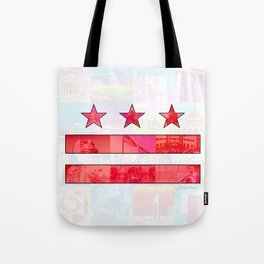 DC Scenes Flag Tote Bag