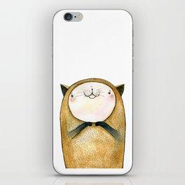 cutie cat iPhone Skin