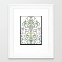 plants Framed Art Prints featuring Plants by Abundance