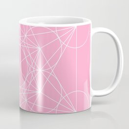 Metatron's Cube Pink Coffee Mug