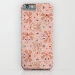 Spring flies 2d iPhone Case