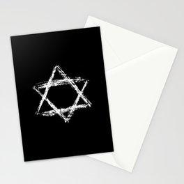 Star of David 22- Jerusalem -יְרוּשָׁלַיִם,israel,hebrew,judaism,jew,david,magen david Stationery Cards