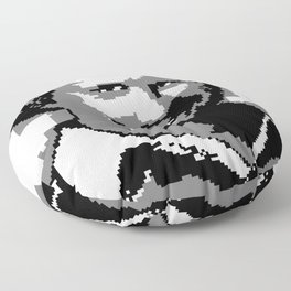 OFF TO THE 7TH HOLE (2016) Floor Pillow