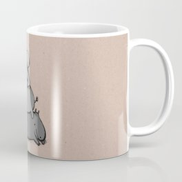 Hippo Totem Coffee Mug
