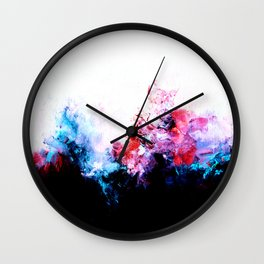The Fog (Bright, Inverted) Wall Clock