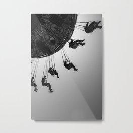 Swing Carousel VI Metal Print