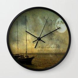 A ship 2 Wall Clock