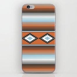 Modern Mexican Serape in Technicolor iPhone Skin