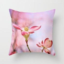 Pink Lady Throw Pillow