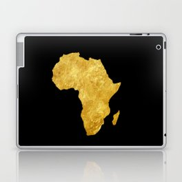 Gold Africa Laptop & iPad Skin