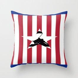 Patriotism Throw Pillow
