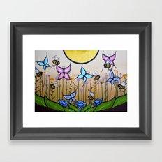 Kokum's Garden Framed Art Print